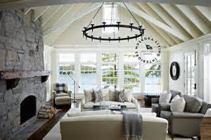 Cathedral Ceiling Living Room Ideas Mediterranean Living Room With Cathedral Ceilings Mediterranean Bathroom