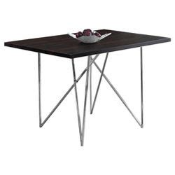 branton rectangular drop leaf table brandon 2 63 quot dining table white and chrome aeon target