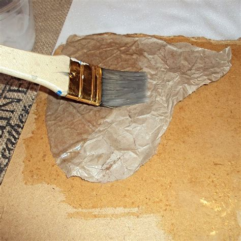 Hometalk   How to Create a Faux Leather Finish Using Brown