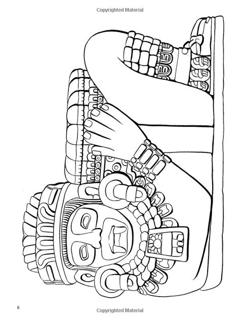 coloring pages aztec designs 1000 images about ancient south american civilizations on