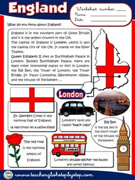 all about britain eso1 the o jays worksheets and england on