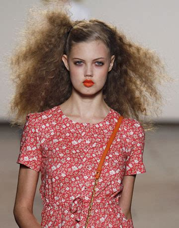 marc jacobs runway models shag hairstyles flawless friday a new summer do mamo parker