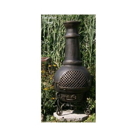 Chiminea Spark Screen by Awardpedia The Blue Rooster Cast Aluminum Gatsby