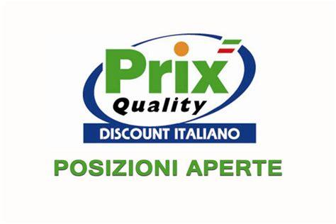 prix quality sede prix quality discount posizioni aperte workisjob