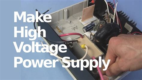 Bench Dc Power Supply How To Make 30kv High Voltage Dc Power Supply With Flyback