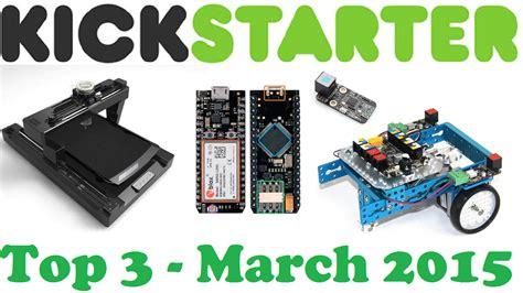 best kickstarter projects kickstarter projects top 3 march 2015 pancakebot spark