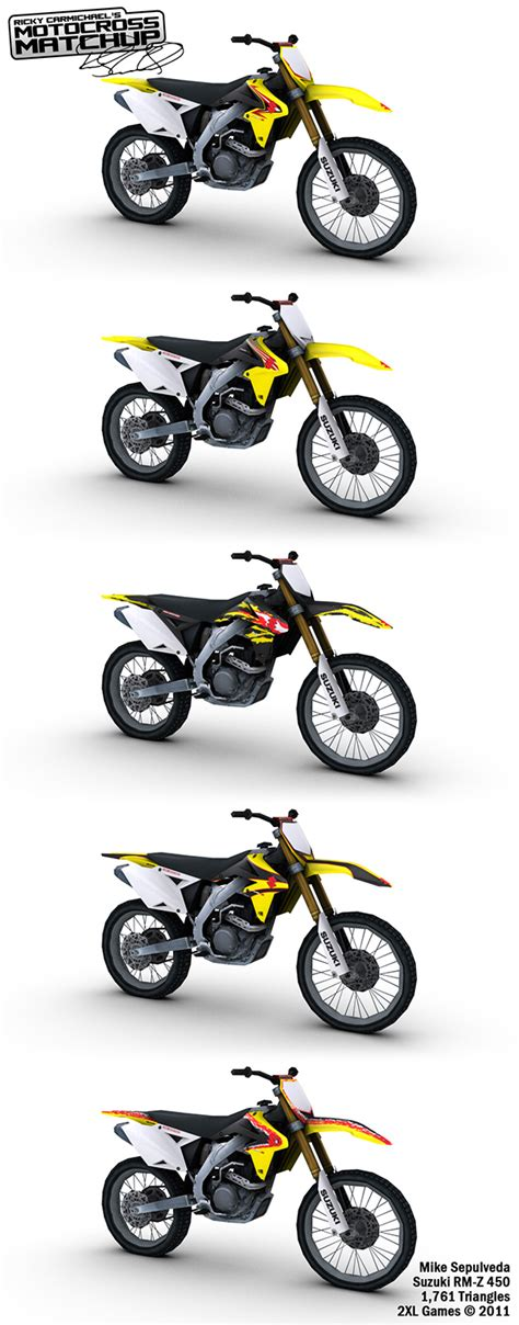motocross matchup ricky carmichael s motocross matchup on behance