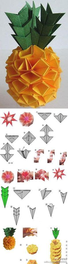 Or Am I Origami - 1000 images about frutas on origami tutorial
