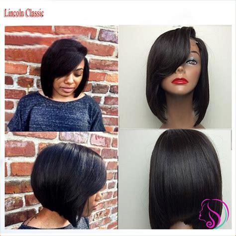 layer bob wigs for black women layered human hair short bob wigs for black women glueless