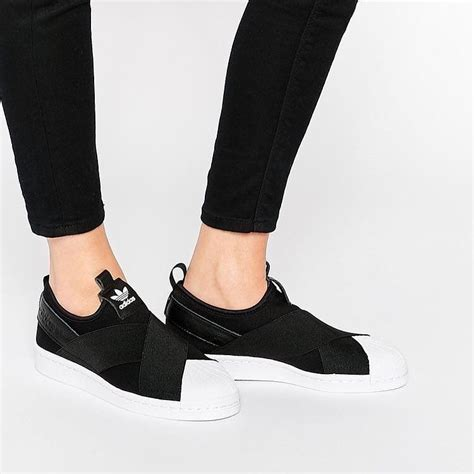 Adidas Superstar Ready quot adidas superstar slip on quot black white ready stock size
