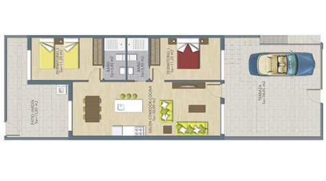 medcottage floor plan 2 bedrooms ground floor apartment in san pedro quality