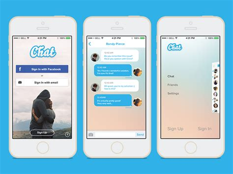 chat template psd by arcangelo fiore dribbble