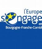 Résultat d'images pour l'europe s'engage en bourgogne franche comté