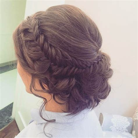 Wedding Updos Braids by Best 25 Fishtail Updo Ideas On Wedding Hair