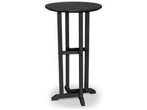 Plastic Bar Table Polywood 174 Traditional Recycled Plastic 24 Bar Height Table Rbt124