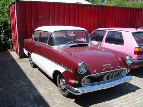 opel rekord p1 1958 1960