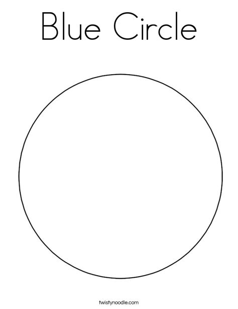 Coloring Pages For Preschool Blue Coloring Pages Blue Coloring Page