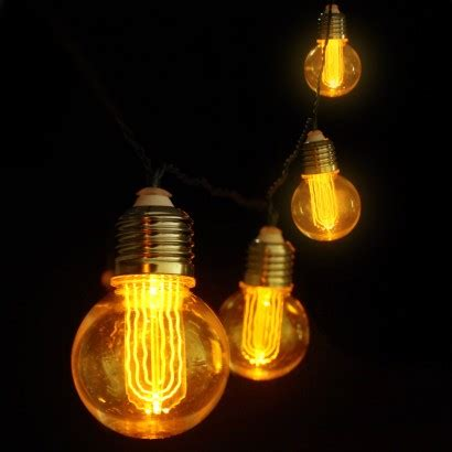 Retro Edison Bulb String Lights Bulb String Lights Indoor