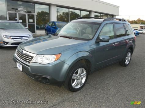 subaru sage green 2009 subaru forester 2 5 x premium in sage green metallic