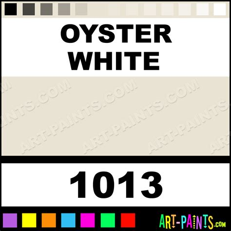 what color is oyster oyster white glossy acrylic airbrush spray paints 1013