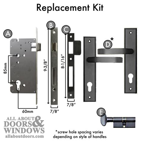 Pella Door Repair by How To Replace A Pella Single Point Mortise Lock With A Pz