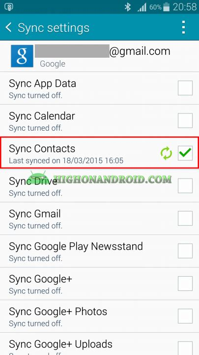 how to backup contacts on android ultimate guide how to backup and restore contacts on android howto highonandroid part 2