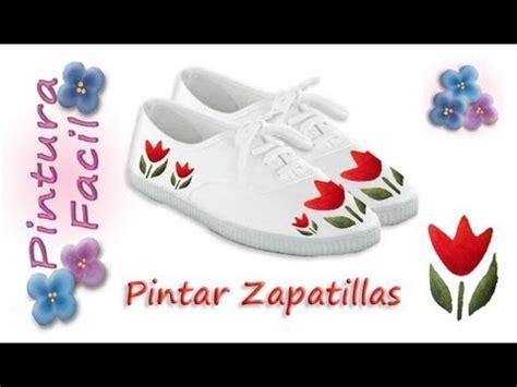 imagenes de uñas pintadas con zapatillas como pintar zapatillas paint sneakers pintura facil para