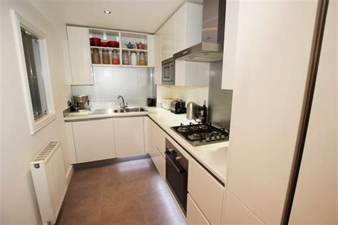 small kitchen design by lwk kitchens london modern small white handleless kitchen modern kitchen other