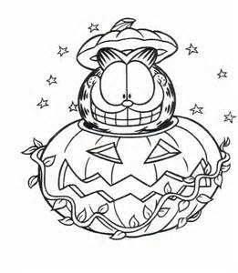 free garfield cat coloring pages kids