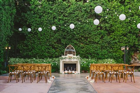 garden weddings los angeles area and blue franciscan gardens wedding