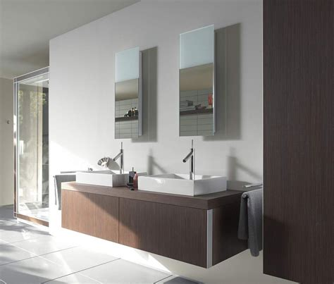 duravit bathroom mirrors duravit starck mirror with lighting 292mm x 850mm