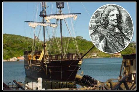 genuine pirate ship of henry morgan for sale 750000