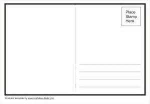 postcard template free 4 215 6 postcard