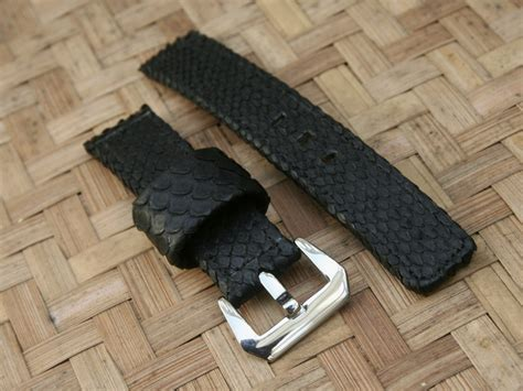 Buckle Hitam Jam 20mm by Dayan S Day For Sale Genuine Snake Leather