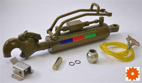 2 len in serie schakelen hydraulische topstangen serie 2 cat 2 63 mm zonder