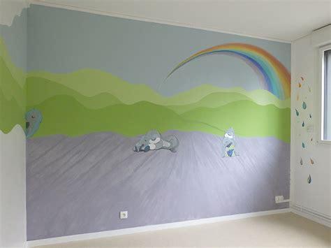 peinture mur chambre bebe id 233 es d 233 co chambre b 233 b 233 et enfants mur evasion