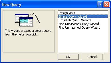 membuat query dengan query wizard ilmu software membuat query di access dengan wizard