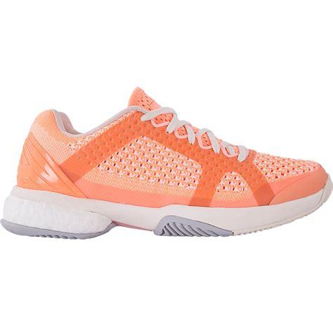 adidas stella barricade boost s tennis shoe orange white