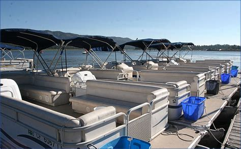 boat slip rental big bear lake bbm pontoon and fishing boat waverunner and kayak rentals