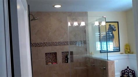 how to add a shower to a bathtub how to turn one bathroom into two youtube