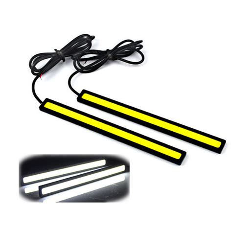 Drl Daytime Running Led 17cm 1pcs 17cm 12v cob led drl driving daytime running lights
