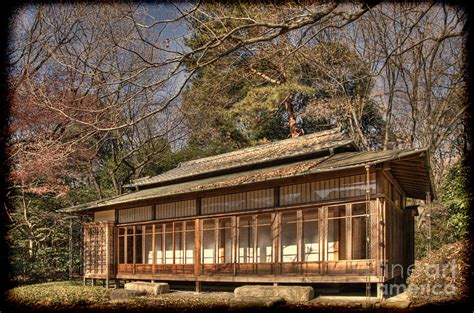 old japanese house design old japanese house in autum photograph by tad kanazaki