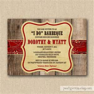 bbq couples shower invitations rustic bbq rehearsal dinner barbeque