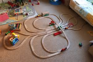 brio layouts brio wooden train track wooden track mind