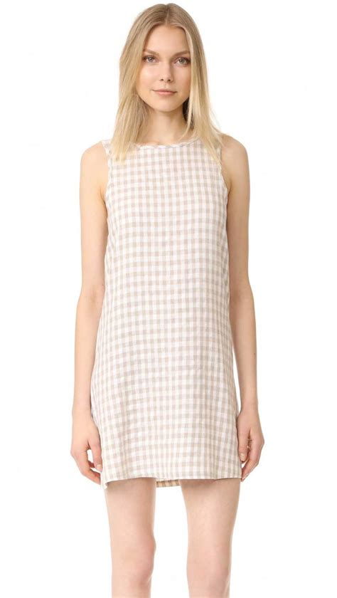 gingham dress gingham dresses on trend for 2017 in every style