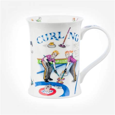Gift Large 9483 Dunoon Mugs Cotswold Curling