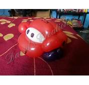 Rayo Mcqueen Con Globo  Twisting A Lightning McQueen