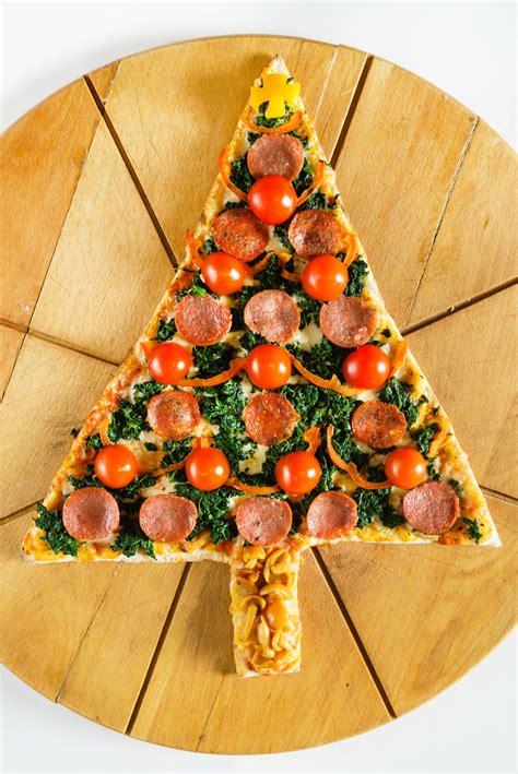 christmas pizza tree pizza recipe