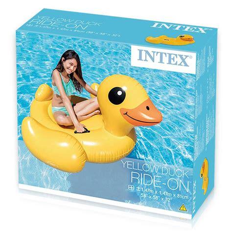 Bebek Ride On Duck Dinaiki intex yellow duck ride on bebek pelung renang pompa