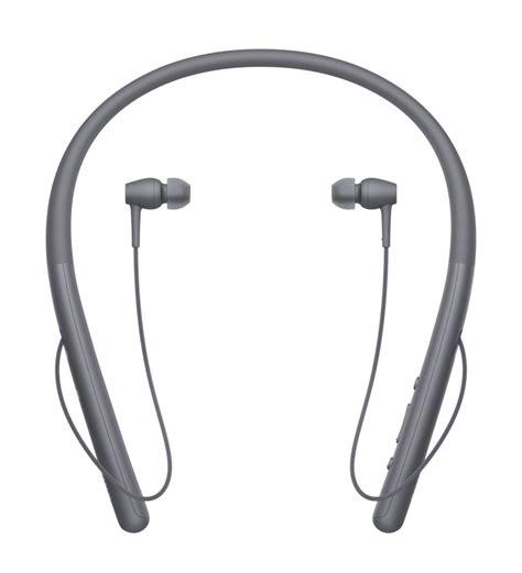 Earphone H sony h ear in 2 black bluetooth wireless neckband in ear